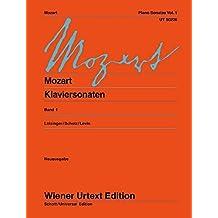 Klaviersonaten: Nach den Quellen. Band 1. Klavier. (Wiener Urtext Edition)