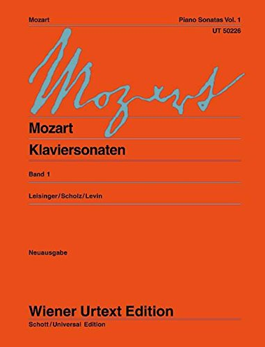 Sonaten 1 Piano (Wiener Urtext)