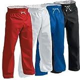 Century Martial Arts Karate Hosen für Männer 2 - Kind 10-12 Schwarz