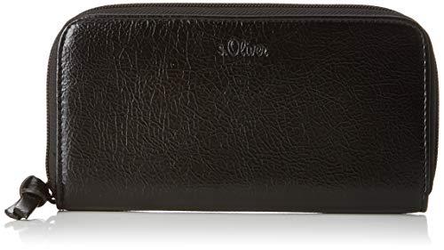 s.Oliver (Bags Damen 39.808.93.5572 Geldbörse, Schwarz (Black), 2x10x19 cm