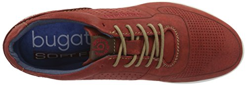 Bugatti K19015, Sneakers Basses Homme Rouge (Rot 300)