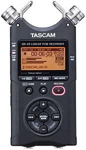 Tascam Dr 40 4 Track Portable Digital Recorder Musical Instruments