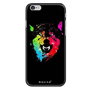 Mozine Rainbow Wolf printed mobile back cover for Apple Iphone 6s plus