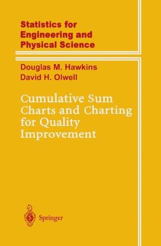 Cumulative sum charts and charting for quality improvement par Douglas M. Hawkins