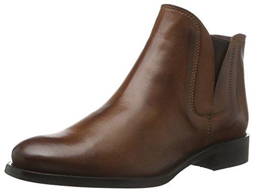 Bianco Damen V-Split Boot 26-48224 Kurzschaft Stiefel Braun (24/Light Brown)