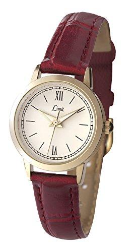 limit-697835-damen-armbanduhr-quarz-analog-armband-polyurethan-rot