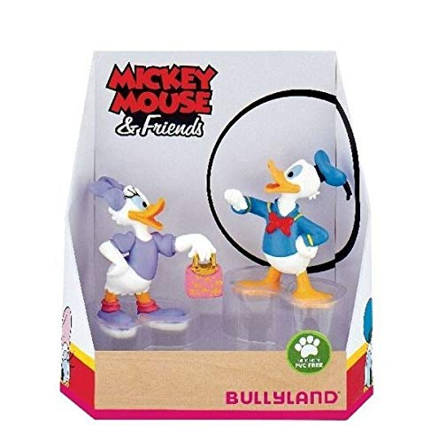 Bully Disney figurine collection - Donald Duck Duck and Pata Daisy Duck (15084)