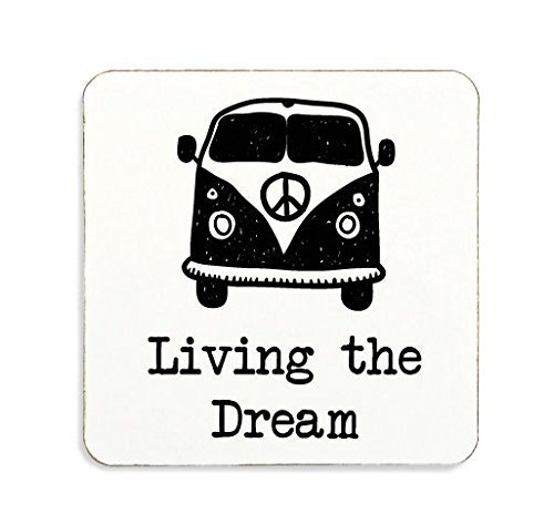 living-the-dream-dessous-de-verre-en-liege-pour-caravane-camping-cadeau-noir