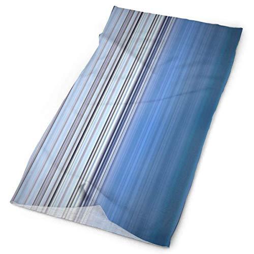 Cotton Striped Headwrap (Blue Purple Striped Headwrap Unisex Multifunction Headwear Polyester Quick Dry Soft Headband Neck Scarf,Premium Headdress Outdoors Magic Head Scarf Bandana Mask Neck Gaiter for Men Women)