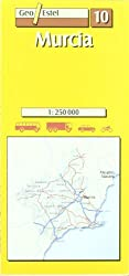 10 - Murcia Road Map (Main routes) by Geo Estel (2004-02-01)