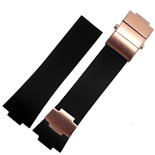 26mm-black-rubber-watch-strap-band-rose-gold-suitable-ulysse-nardin-353-68le-3