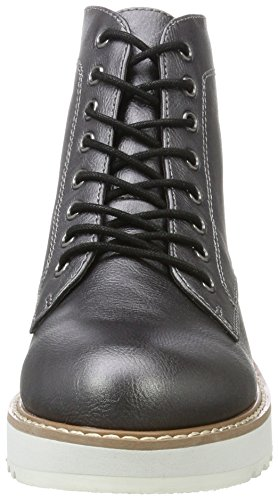 Pepe Jeans London Damen Ramsy Bootie Stiefel Silber (chrome)