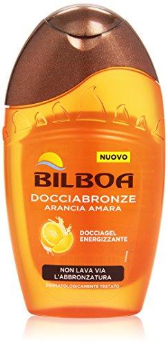 Bilboa - Doccia Gel, Doccia Bronze, Energizzante, Arancia Amara -  300 ml