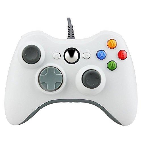 Prous Xbox 360 Controller XW20 Wireless Controller Xbox 360 Wireless Gamepad für PC/Xbox 360 - Schwarz (Drittanbieter Produkt)