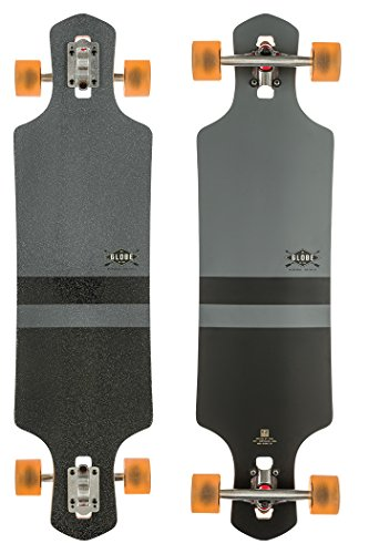 Globe Longboard Geminon 38.5, Charcoal/Black