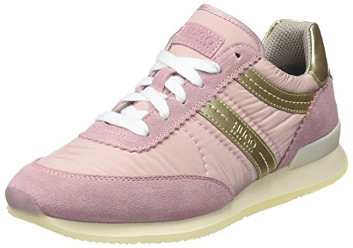 HUGO Damen Adreny-s 10191482 01 Sneaker Pink (Light/Pastel Pink)