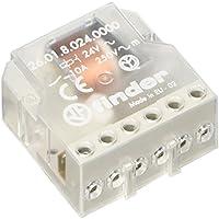 Finder serie 26 - Rele encastrado interruptor unipolar 1 contacto abierto 24vac