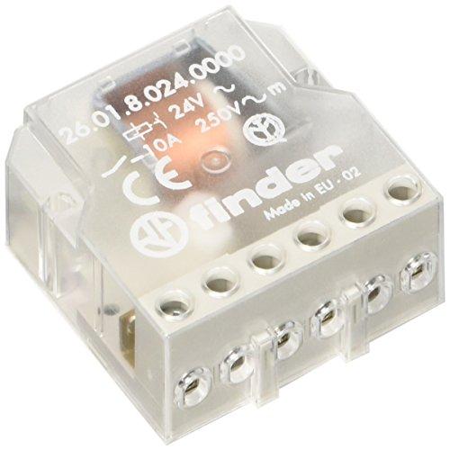 Preisvergleich Produktbild Finder unipolaren 1Kontakt offen 24VAC SERIE 26–RELE Netzwerkdose Schalter