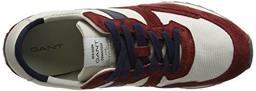 Gant Duke, Baskets Homme Mehrfarbig (Scarlett Red/pumice Beige)