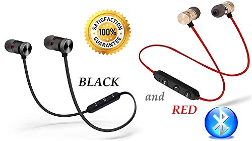 CRAYOTALK k1 Bluetooth 4.1 Wireless Headset, Noise Canceling Hands-Free with Magnetic Wireless Bluetooth Sport in-Ear Earbuds & Mic Compatible with All Smartphones (Assorted Color) Image 9