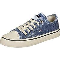 Tommy Hilfiger Lowcut Tommy Jeans Women's Sneakers, Blue (Denim 404), 5 UK (38 EU)