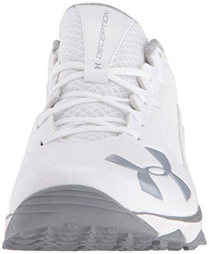 Mens Deception Under da White da allenamento Training Scarpe Baseball ArmourUnder white Deception baseball Shoes uomo Armour wqEtE