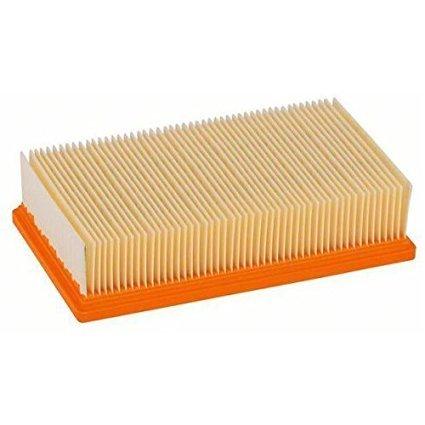 Flachfaltenfilter Filter passend für original Kärcher NT 25/1 Ap, NT 35/1 Ap, NT 35/1, NT 45/1, NT 55/1, NT 361, NT 561, NT 611 Tact, Te, M, Eco ersetzt original 6.904-367.0