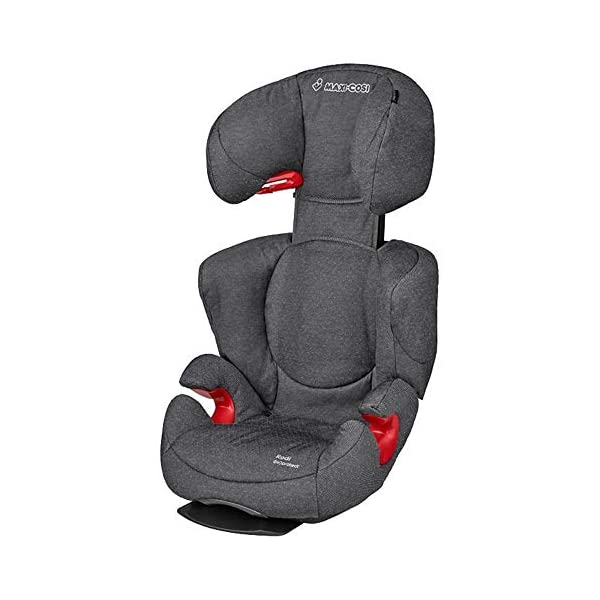 Maxi-Cosi Rodi AirProtect Child Car Seat, Lightweight Highback Booster, 3.5-12 Years, 15-36 kg, Sparkling Grey Maxi-Cosi Child car seat, suitable from 3.5 to 12 years (15-36 kg) Easily install this safe car seat with a three point seat belt and attach the anchorage point in the head rest through your cars head rest Patented AirProtect technology in headrest reduces the risk of head and neck injuries up to 20 percent 1