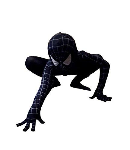 Nihiug Außergewöhnliche Spider-Mann Halloween Geschenk Kinder Erwachsene Strumpfhose Filme Helden Piecemeal Göttin Kostüm Retro Secret,C