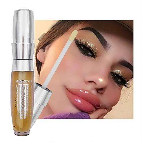 Xiton Natürliche Lip Plumper Lippenserum 1 Stück langlebiges Moisturizer Sexy 3D Lip Plumper Extreme Gloss Lip Booster Enhancer für Mädchen-Frauen-heiße reizvolle Lippe