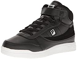 Fila Womens Bbn 84 2 Walking-Shoes, Black/Black/White, 9 B US