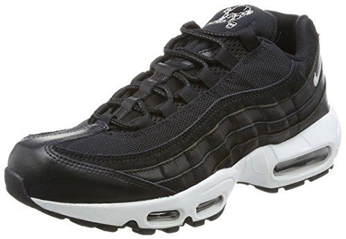 Preisvergleich Produktbild Nike Mens Air Max 95 Premium Rebel Skulls Black Chrome off White 538416-008 Size: 44 EU