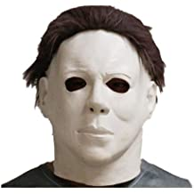 Latex Michael Myers Halloween Horror Maschera Completa Testa Film, di