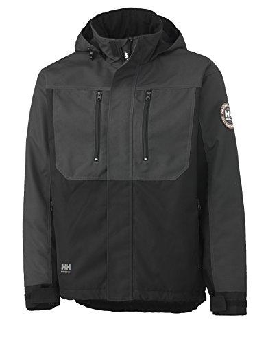 Helly Hansen 34-076201 Workwear Funktionsjacke/Berg Jacket Winterjacke,grau/schwarz,XL