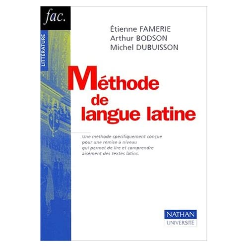 Méthode de langue latine