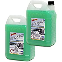PETROLINE ANTICONGELANTE ORGANICO 30% Verde (5L.) Pack 2 Botellas