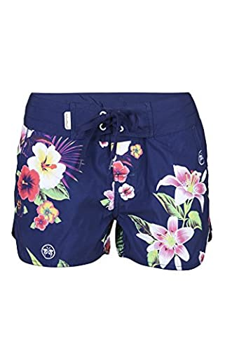 Urban Beach Damen Thurlestone Board Shorts, Marineblau, Größe 10