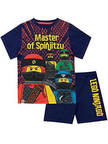 LEGO Jungen Ninjago Schlafanzug Mehrfarbig 158 - Kurze Pyjamas Pjs