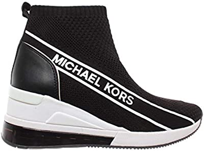 Zapatos Mujer Sneaker Slip On MICHAEL KORS Skyler Bootie Extreme Fabric Negro