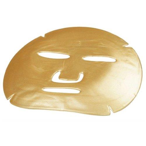 24K Gold Pulver Gel Kollagen Gesichts Maske mit Hyaluron Aktualisiert, Versorgt, Hydrate, Verhindert Falten bildung und Minimiert the Vorhandene Diejenigen