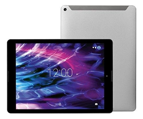 MEDION LIFETAB P9702 MD 60201 24,6cm (9,7 Zoll QHD Display) Tablet-PC (Rockchip Quad Core 1,8GHz, 2GB RAM, 32GB Speicher, Bluetooth, GPS, WLAN, Android 7.1.2) titan