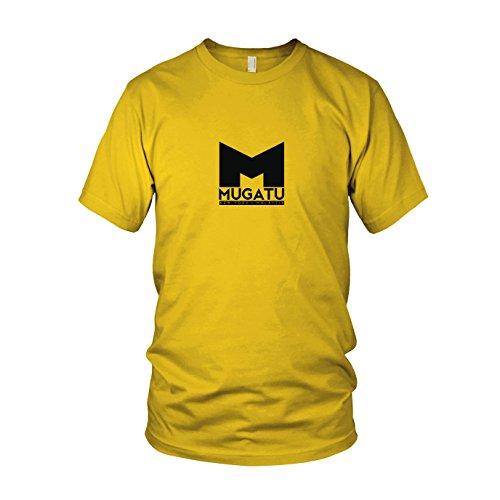Mugatu - Herren T-Shirt, Größe: XXL, Farbe: gelb (Mugatu Kostüm Zoolander)
