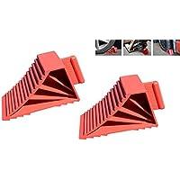 ML herramientas 2 Pack High Grip calces de rueda hecho en EE.