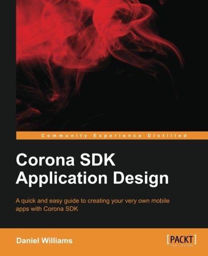 Corona SDK Application Design