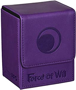 Amigo Spiel + Freizeit Ultra Pro 84703-Force of Will Darkness Magic Stone Flip Caja, Juego de Cartas