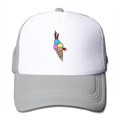 Hittings CCbros Gucci Mane Sunbonnet Mesh Back Hats Cap One Size Fit All Black Ash