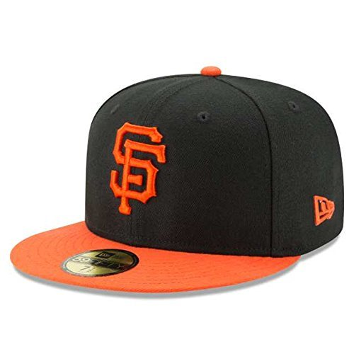 New Era MLB Diamond Era SF Giants 59Fifty Fitted Casquette De Baseball Homme, Noir (Team), Medium (Taille Fabricant:714)