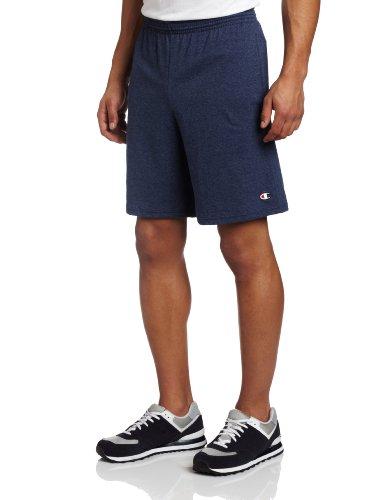 da-uomo-champion-authentic-jersey-di-cotone-per-pantaloncini-con-tasche-navy-heather-x-large