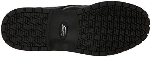Skechers für Arbeit 77046 Pappel-Goddard Twin Gore Slip On Black