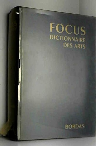 Focus Dictionnaire des Arts